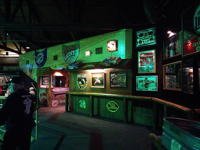 Inside the Diamondback Saloon