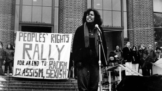 People's Rights Rally on the Diag, 1981