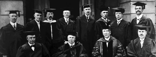 Regents 75th Anniversary, 1912