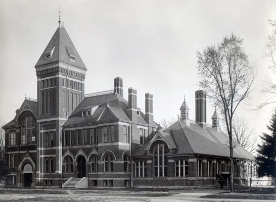 This was the location of the Engineering shops until it became the West Engineering Annex in 1923