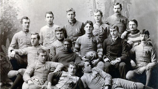 University of Michigan Football Team, 1890