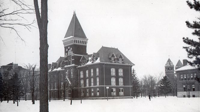 University Museum, 1880-1881, facing State Street
