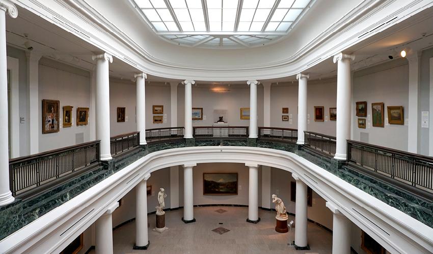 interior of U-M Museum of Art