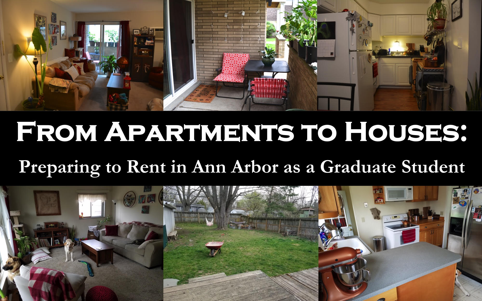 Apartments to Houses: Preparing to Rent in Ann Arbor as a Graduate Student