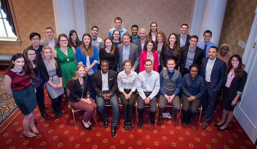 the Thirty Under 30 program fellows